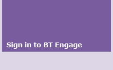 Sign in to BT Engage