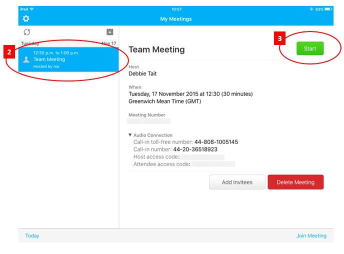 WebEx support - BT Conferencing
