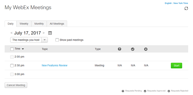 WebEx support BT Conferencing
